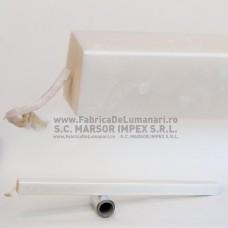 Lumânare pătrată 42 L130 preţ/2 buc