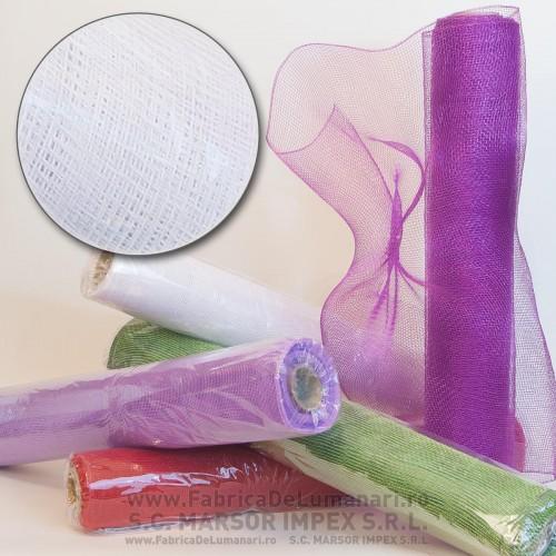 Plasă tip 12 plastic ALB