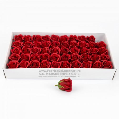 Flori săpun trandafir ROSU